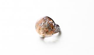 NV43 Кольцо Бамби маленькое муранское стекло