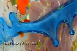 MD24(1) Ваза Гауди средняя 20 см муранское стекло