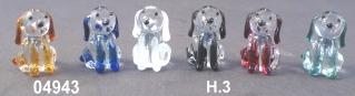 04943 Собаки стеклянные мини сет 6 шт