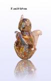 F.an10 Белка (выс. 9см) муранское стекло