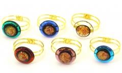 RS18-B Браслет Лагуна 6 цветов муранское стекло