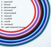 TR96 Каучук для браслетов из бусин Пандора 23см с невидимым замком различные цвета