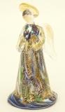 DM61 Колье Glamour с авентурином муранское стекло
