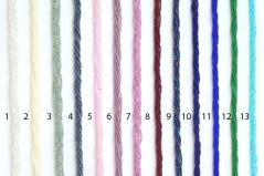 Колье микробисер 6 рядов 50 см 13 новых цветов