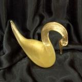 525/E Статуэтка Лебедь (дл. 40см) муранское стекло