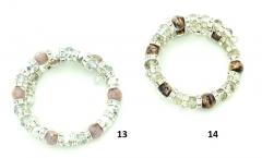 EN 207 Браслет (5) Скерцо c кристаллами муранское стекло