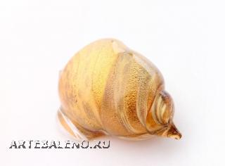 396/L Статуэтка Морская ракушка (высота 9см) муранское стекло