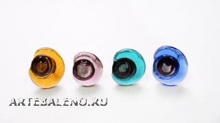 RS12-A Кольцо Луна 5 цветов муранское стекло