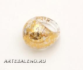NV07Кольцо Бонди' круглое цвет иридий хамелеон
