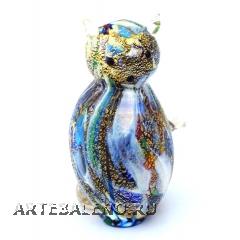 GRos Funny Zoo фигурка Кошка 9см муранское стекло