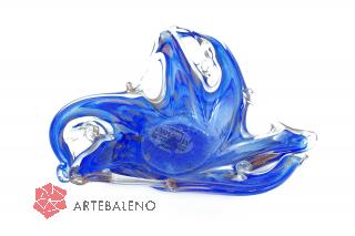 05288 Блюдо-трилистник 20 см цвет синий
