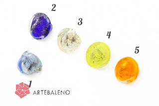 NV51 Кольцо Венеция Marble 6 цветов муранское стекло