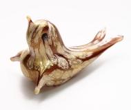 445/E Статуэтка Тюлень с мурринами (дл. 14см) муранское стекло