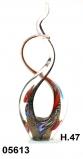 SM5613 Статуэтка Любовный узел H47 cм с золотом и крупными мурринами