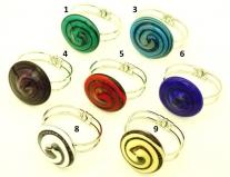 RS15 Браслет Танец 9 цветов муранское стекло