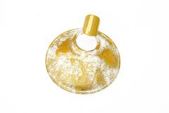 NV07 Подвеска Бонди' д.8 см цвет иридий хамелеон муранское стекло