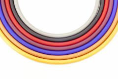 Каучук 8мм с застежкой easy-go 50см различные цвета